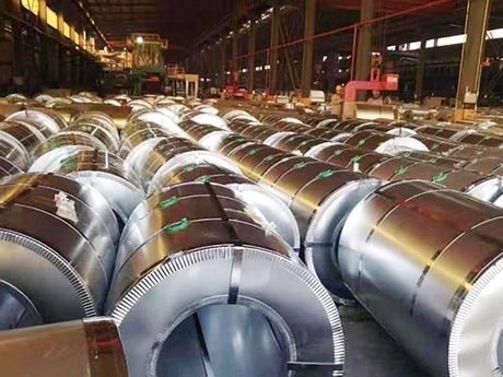 Aluminized zinc steel coil exported to Kazakhstan 03.jpg