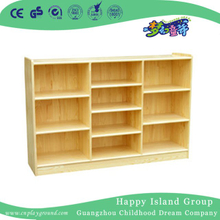 Kindergarten Solid Wood Children Toys Cabinet (HG-4302)