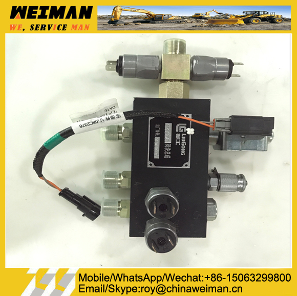 Wheel Loader Spare Parts 45C0155 Valve Assy