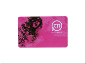 PVC RFID Card with Bright Color Printing