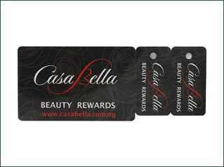 Custom Luggage Tag Card