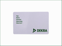 Dimensional Accuracy PVC Card with Custom Design
