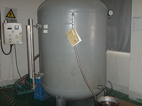 Vacuum oil processor