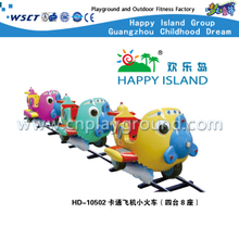 HD-10502 Cartoon Plane Design Niños Electric Mini Train