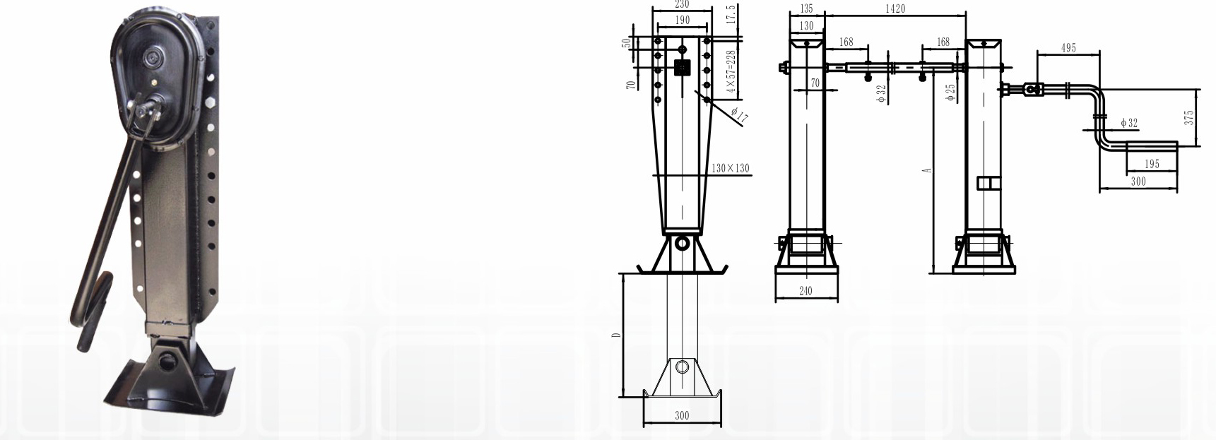 Landing Gear-Semi Trailer Parts-ET Series