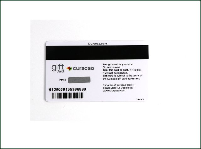 PVC Scratch Reward Card with Pin Number