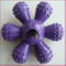 Pet Dog Puppy Toy Rubber Chew Crazy Fun Flower Play Toy