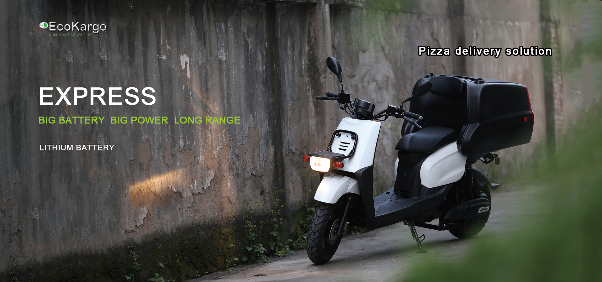 2017 EEC certificate TGB-BOX Pizza Delivery 3000W Electric Scooter