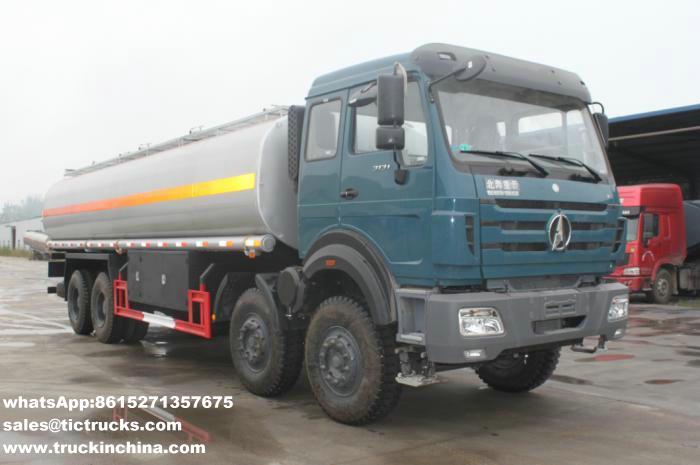 Camion lourd du pétrole 8x4 de Beiben 3138