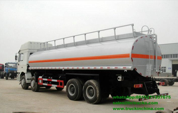 Véhicule de transport de pétrole brut de Shacman F3000 8x4