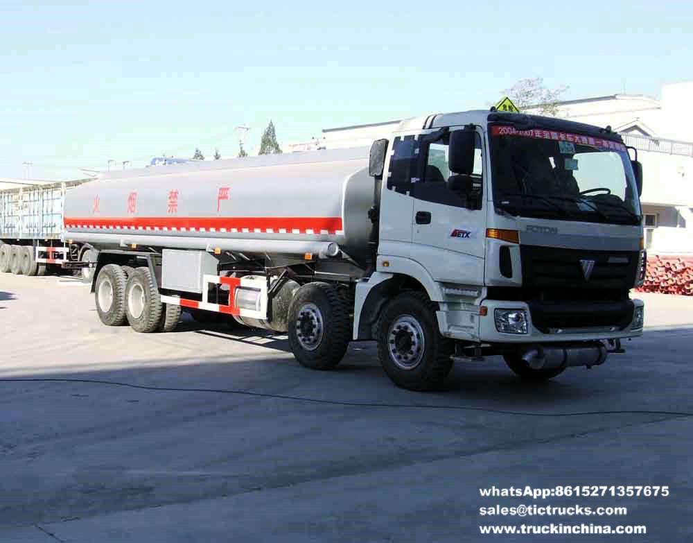 Véhicule de transport d'huile de table de Foton 8x4Foton 30000L