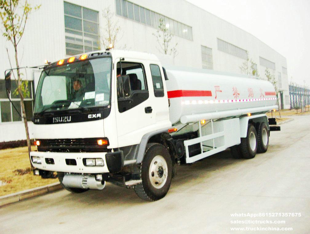 Camion de réservoir d'Isuzu de camion-citerne aspirateur d'Isuzu