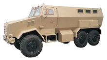 Dong Run Bulletproof Armoured 6×6 Off Road Armoured Troops Carrier Truck 3 + 12 Crew