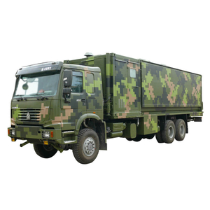 Logistic Support Special Vehicle HOWO Offroad AWD Mobile Kitchen Customizing