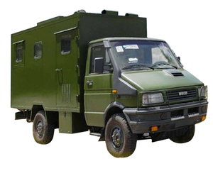 Mobile 1000 L Water Purification Vehicle Mounted on IVECO