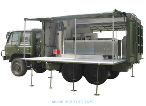 Military Kitchen Truck 6x6 Offorad Customizing