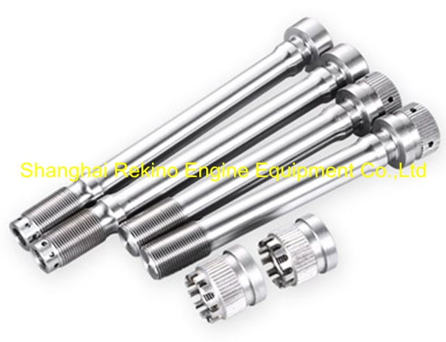 DN-06-004 DN-06-006A DN-06-007 Connecting rod bolt Ningdong engine parts for DN320 DN8320