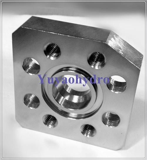 Sae hydraulic flat flanges tube fitting