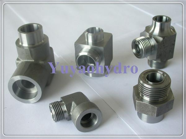 Socket weld tube fittings
