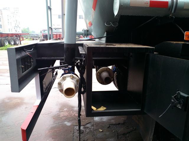 Hydrochloric Acid Tanker -37000Liters-trailer