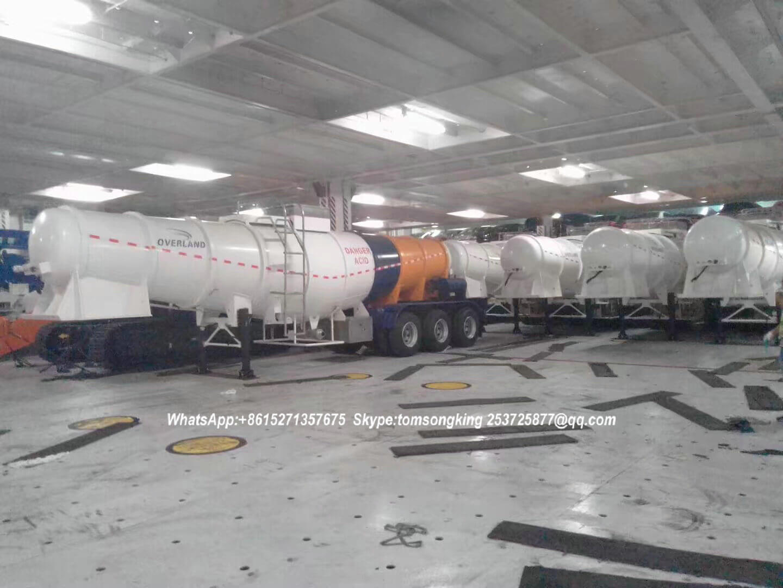 Acid tanker 21000L V SHAPE -24
