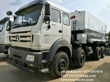 Beiben 8x4 Bulk explosive trucks mix explosives on site 3134