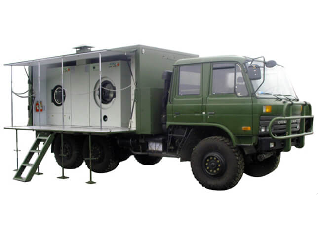 Offroad Mobile Laundry Truck 6x6 / 4x4