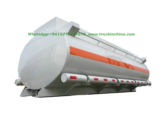 Hydrochloric acid tank, Sodium hypochlorite Tank body 3 compartments Elliptic shape