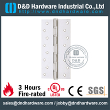 Stainless Steel Grade 316 Heavy Duty Hinge with SSS for Metal Door- DDSS054
