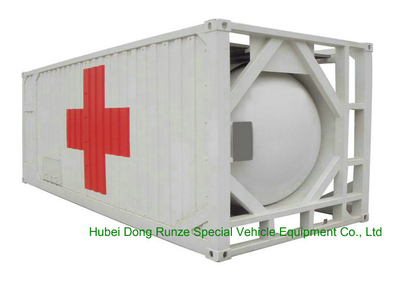 Fuel Gas Tank Container Double Skinned IMO 1 IMO 5 Tank (20,000 – 24,000 Liter)