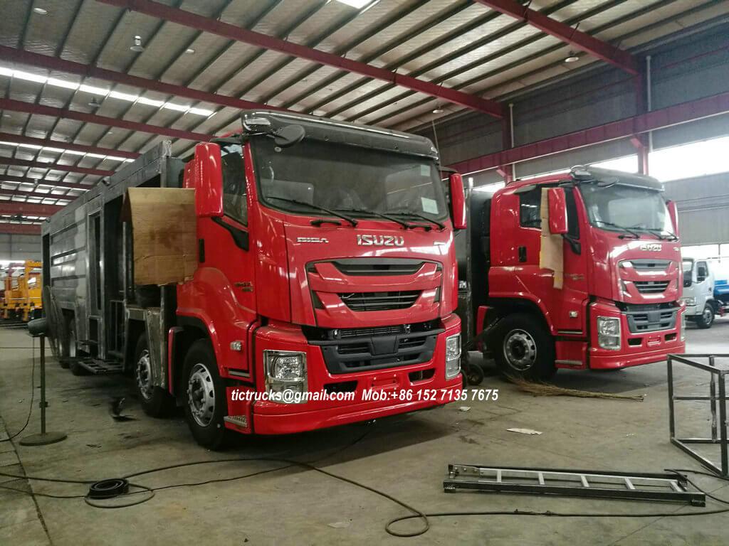 ISUZU GIGA foam powder fire -44-truck