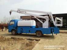 Aerial platform truck 16m with water tank and water pump Customising
