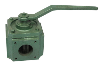 Septic Tank Vacuum Pump Four-way Valve