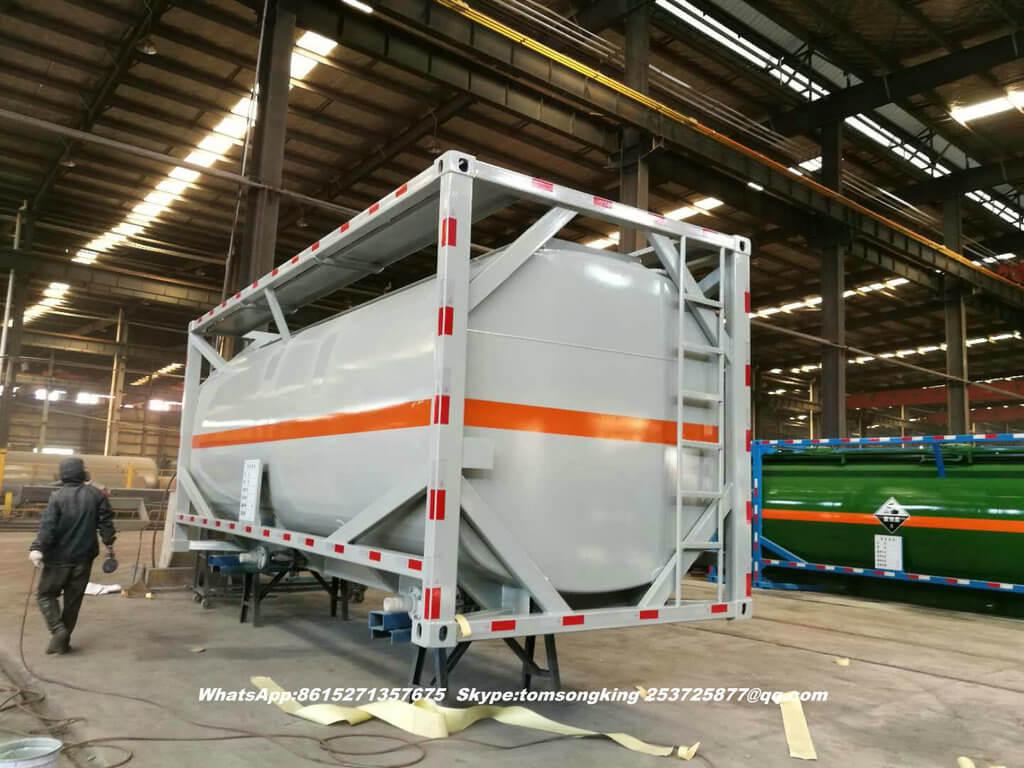 ISO tank HCl acid-35