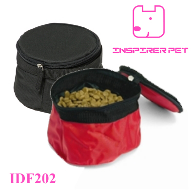 Folding Travel Hiking Camping Dog Cat Pet Food Water Bowls
