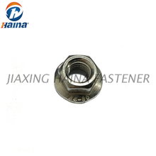 DIN6923 Stainless Steel Plain SS304 SS316 Serrated Hex Flange Nut