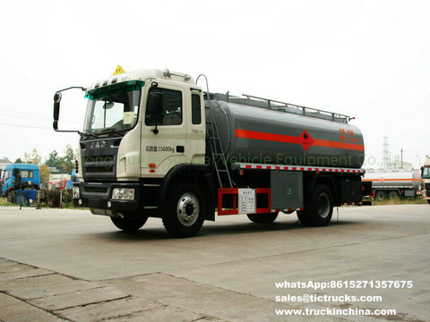 JAC 4x2 Diesel refueling vehicle 12000L