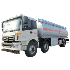 FOTON AUMAN Oil Tanker Truck With Stainless Steel 25000 Litres ( 6600 Gallons)