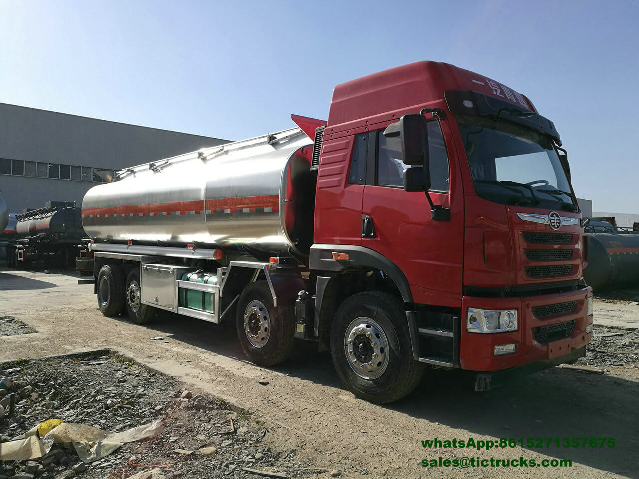 Camion-citerne -009-FAW-truck_1.jpg d'alliage d'aluminium