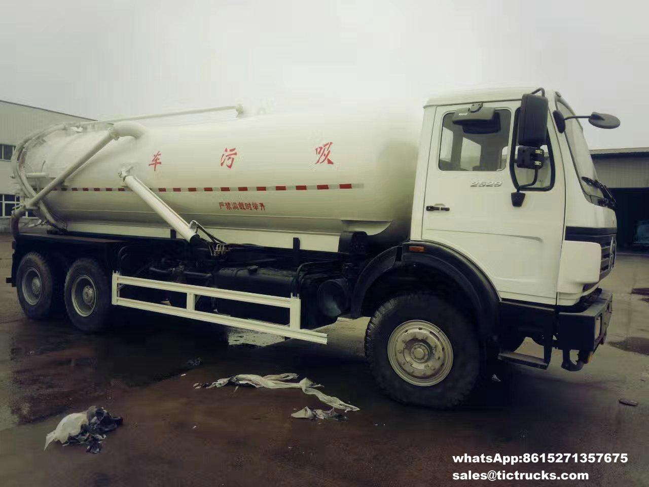Camion -04_1.jpg d'eaux d'égout de vide de Beiben