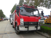 KAMA Fire Truck 4x4 All Wheel Drive with 3500Liters Water Tank
