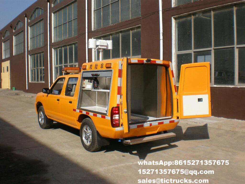 Camion 14.jpg de délivrance d'ingénierie d'ISUZU