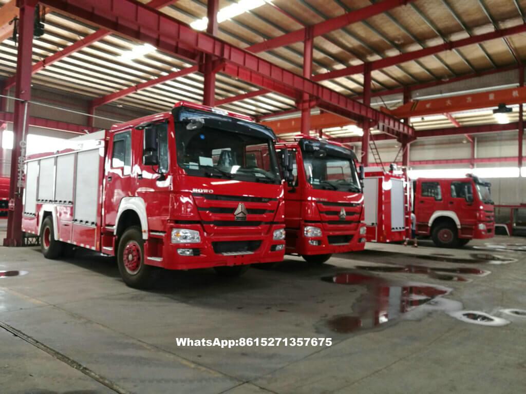 L'eau de abattage hydraulique élevée tower-61T-fire truck_1.jpg de HOWO