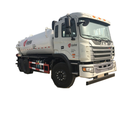 JAC Vacuum Tanker Trucks 16000 Liters -20000Liters Customizing