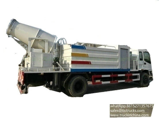 ISUZU dust control water truck dust suppresion truck
