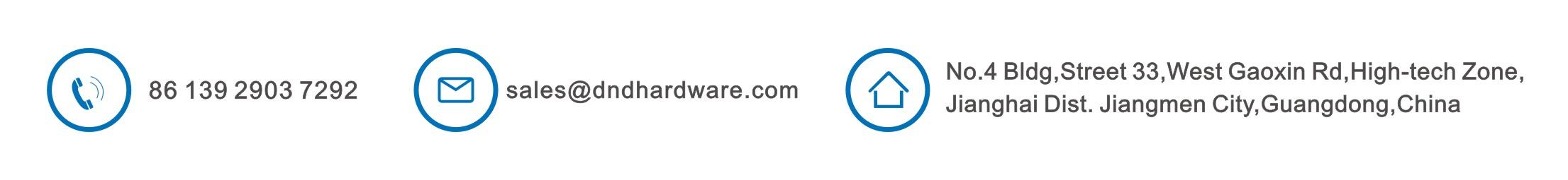contact D&D Hardware