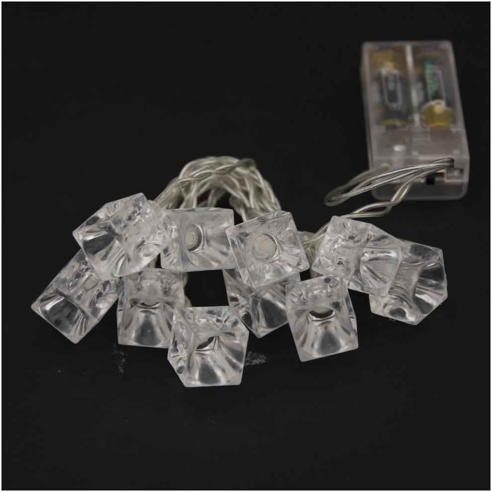 Transparent Ice Battery Light Ice Pendant String Light Wholesale Customized