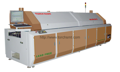 Large-size lead-free Reflow Oven with Eight heating-zones R800
