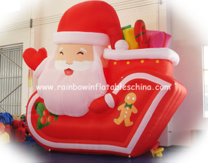 RB20015(2x1.5m) Inflatable Popular Santa Claus For Sale
