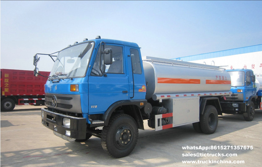 Dongfeng 4x2 Refuelling Fuel Tanker Truck Capacity 10000L_1.jpg